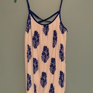 Dresses & Skirts - Blue and white pattern sundress